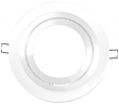 Tronix Architectural | Plate 111 | White | 1 hole round | Adjust