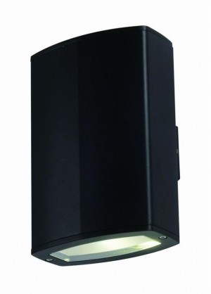 Tronix Wall Lamp | Black | 2x 10W | Double