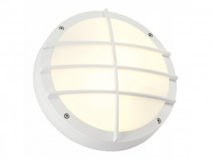 BULAN GRID, wand armatuur, rond, wit, E27, max. 2x 25W PC cover (229081 | 311094)