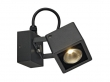 NAUTILUS SQUARE LED wandlamp, vierkant, antraciet, 6W LED, warm wit (231045)