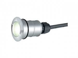 POWER TRAIL-LITE ROND, inox 316, 1W LED, warmwit, IP67 (228332 | 311209)