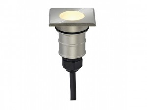 POWER TRAIL-LITE SQUARE, inox 316, 1W LED, warmwit, IP67 (228342 | 312766)