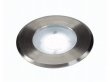 DASAR FLAT 230V LED, inbouw grondspot, rond, 4,3W LED, wit, inox cover (228411)