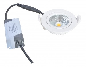 Led Downlight thin wit IP54