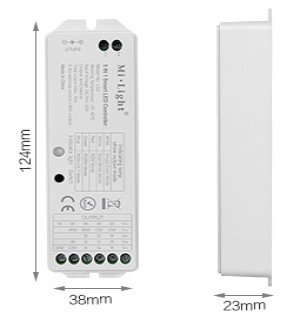 5 in one smart ledstrip controller