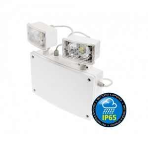 noodverlichting twin spot IP65