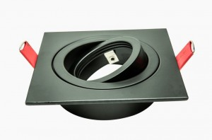 Architectural | Plate ECO | Black | Square adjustable